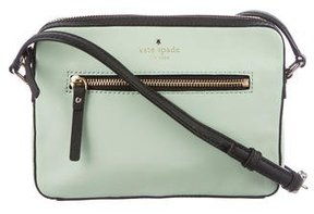 Kate Spade Bedford Square Pennington Crossbody Bag - GREEN - STYLE