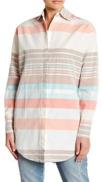 Letarte Multi Stripe Beach Shirt