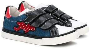 John Galliano touch strap fastening sneakers