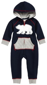 Hatley Infant Boy's Hooded Romper