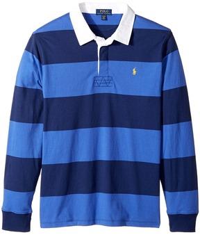 Polo Ralph Lauren Kids - Cotton Jersey Rugby Shirt Boy's Clothing