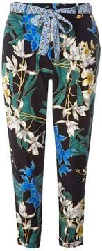 Dorothy Perkins Multi Black Floral Print Trousers