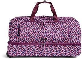 Vera Bradley Large Wheeled Duffel Bag - MINI MEDALLIONS - STYLE