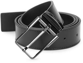 Versace Men's Slim Leather Belt