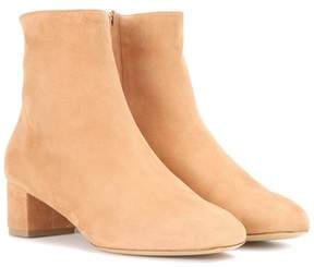 Mansur Gavriel Shearling 40 suede ankle boots