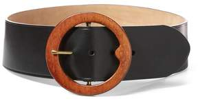 Polo Ralph Lauren | Lennox Wood-Buckle Belt | L | Black