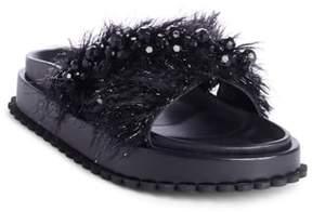 Simone Rocha Embellished Slide Sandal