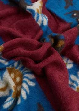 Mango Outlet Mixed print scarf