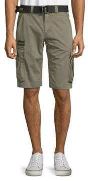 Affliction Loose-Fit Cotton Cargo Shorts