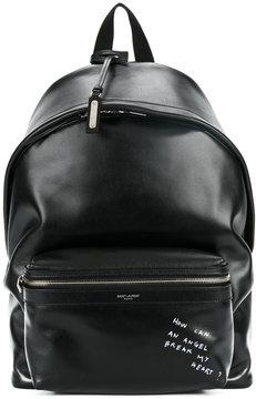 Saint Laurent 'Angel' City backpack