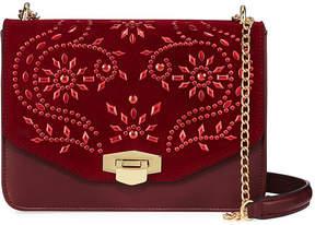 Neiman Marcus Gwyneth Embellished Crossbody Bag
