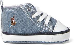 Ralph Lauren Hamptyn Mid-Top Sneaker
