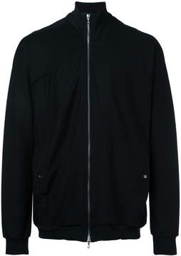 Julius high-neck zipped sweatshirt