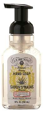 JR Watkins Naturals Foaming Hand Soap Aloe & Green Tea