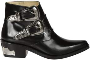 Toga Pulla Buckle Detail Ankle Boots