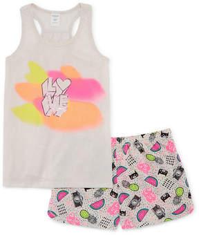 Arizona 2-pc. Tank and Short Pajama Set - Big Girls & Plus