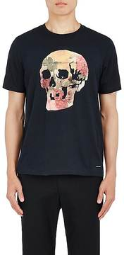 Paul Smith Men's Floral-Skull-Graphic Cotton T-Shirt