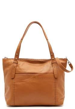 Liebeskind Berlin Newark Stitched Leather Shoulder Bag