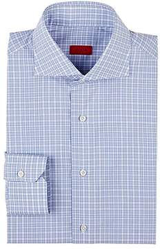 Isaia Men's Checked Cotton Shirt