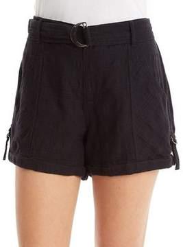 Democracy D-Ring Belt Shorts