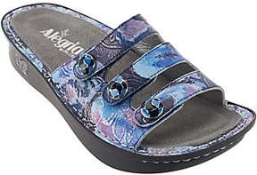 Alegria As Is Printed Triple Strap Sandals - Fiona