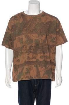 Yeezy Camouflage Print T-Shirt