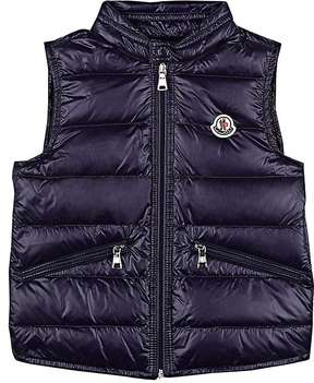 Moncler Kids' Quilted Tech-Taffeta Vest