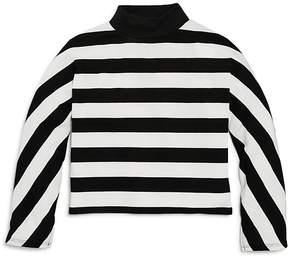 Splendid Girls' Striped Mockneck Top - Big Kid