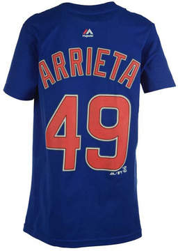 Majestic Toddlers' Jake Arrieta Chicago Cubs Official Player T-Shirt
