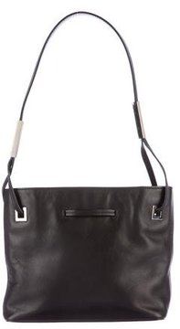 Bally Leather Drawstring Shoulder Bag