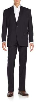 Lauren Ralph Lauren Regular-Fit Pinstripe Wool Suit