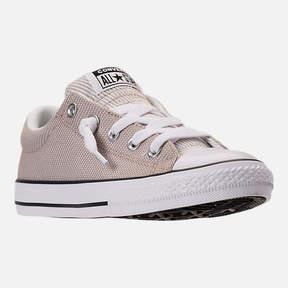 Converse Boys' Grade School Chuck Taylor All-Star Street Slip-On Casual Shoes
