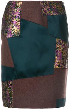 Kolor patchwork pencil skirt