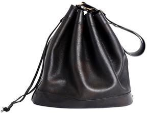 Hermes Market leather handbag - BLACK - STYLE