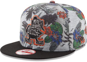New Era Cleveland Browns Cool Breeze Trop 9FIFTY Snapback Cap