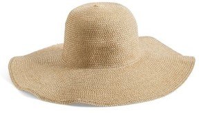 BP Junior Women's Floppy Straw Look Hat - Beige