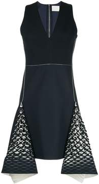 Dion Lee bias perforated mini dress