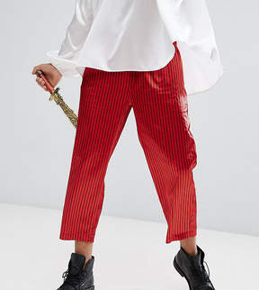 Reclaimed Vintage HALLOWEEN Inspired Relaxed Pants In Stripe
