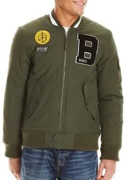 Bench Applique Bomber Jacket