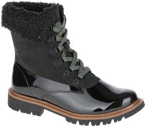 CAT Footwear Black Hub Hiker Leather Ankle Boot