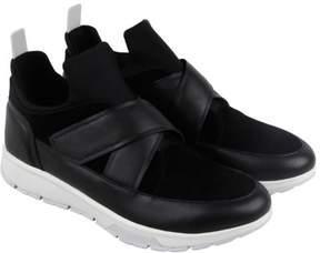 Calvin Klein Karsen Men's Suede High Top Slip-On Sneaker Shoes