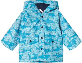 Hatley Blue Shark Alley Mini Raincoat
