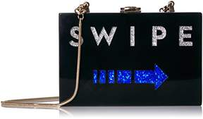 Milly Swipe Box Clutch