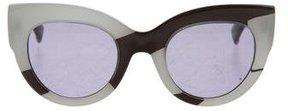Max Mara Oversize Cat-Eye Sunglasses