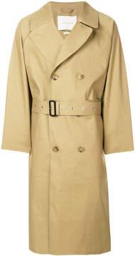 MACKINTOSH Kelp trench coat