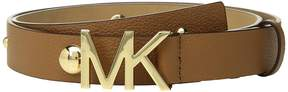 MICHAEL Michael Kors Leather Belt w/ Dome Studs Women's Belts