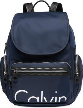 Calvin Klein Nylon Signature Backpack