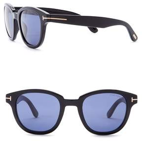 Tom Ford 49mm Round Sunglasses