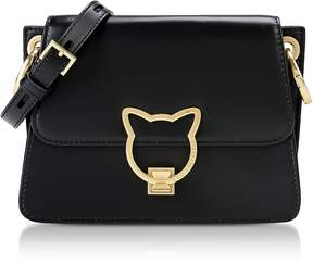 Karl Lagerfeld Black K/Kat Lock Crossbody Bag