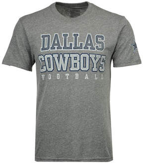 Authentic Nfl Apparel Men's Dallas Cowboys Worn Practice Triblend T-Shirt